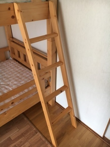 二段ベッド用はしごのみ (makky) 竹下の家具の中古あげます・譲ります