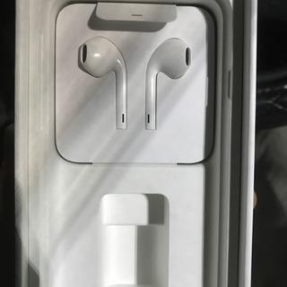 美品 未使用 iPhone7 イヤホン