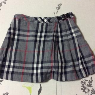 お取引中★BURBERRY キュロットスカート 90サイズ☆