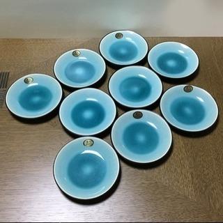貫入 小皿9枚 未使用品