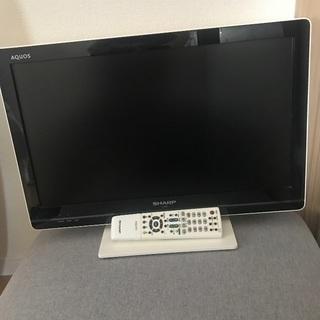 テレビ 白 アクオス 22インチ 美品