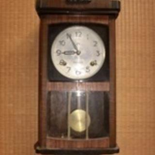 むかしの壁掛け∮ 振り子時計 ∮作動品∮