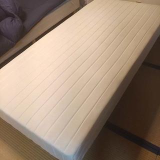 ベッド 足つきマットレス (1)  シングル 3ヶ月使用
