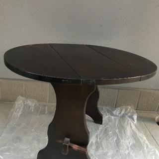 木製 テーブル コーヒーテーブル サイドテーブル 中古品