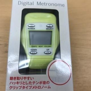 SEIKO デジタル メトロノーム