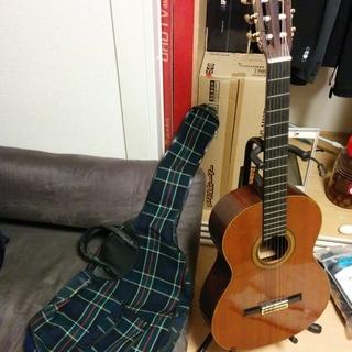 クラッシックギターと可愛いカバーとスタンド YAMAHA C-200