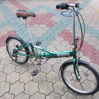 20インチ折り畳み自転車 前後タイヤ新品