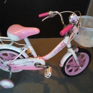ジャンク 幼児女の子用自転車