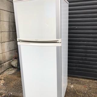 日立2ドア冷蔵庫120L