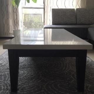 収納付きリビングテーブル