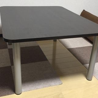 【交渉中】【無料】【早い者勝ち】組立式テーブル(2脚)