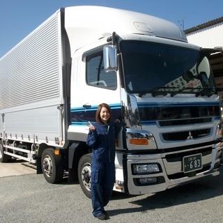 トラックが1人1台!愛車精神をもって楽しくお仕事できます!金属製品...