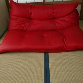 美品☆リクライニングソファー