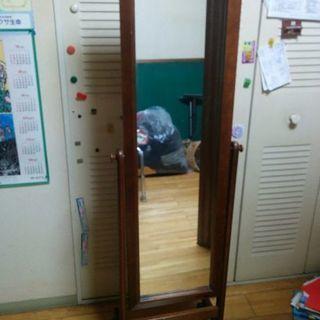 レトロぽっい鏡