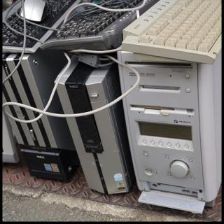 使用済みパソコン・壊れたパソコン無理回収!