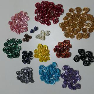ボタン カラー サイズ色々