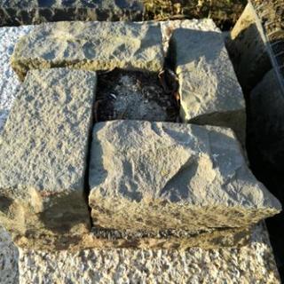 和風庭石のオブジェ