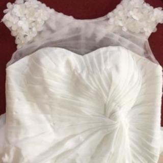 新品‼️花嫁ウエディングドレス 二次会 結婚式 パーティードレス白...