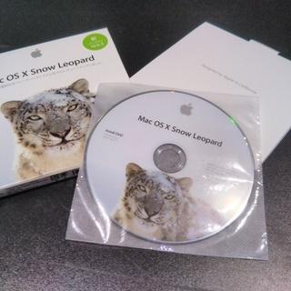 Mac OS X Leopard 10.6.3 インストールディスク