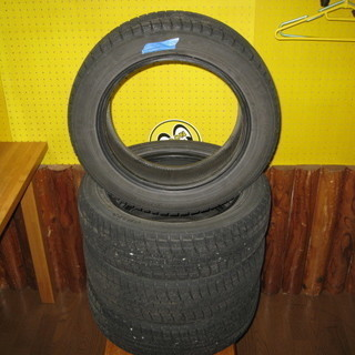 スタッドレスタイヤ 155/65R14 4本セット ワケアリ