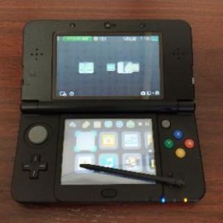new 3DS black 中古,充電器,MHX,スーパーマリオ3...