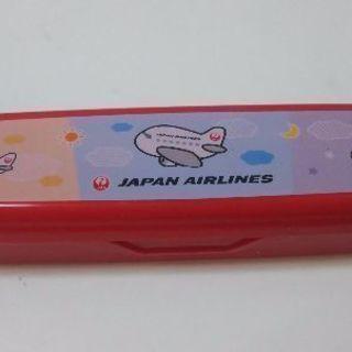 JAL スプーンフォークセット 新品 未使用の画像