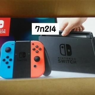(新品・未使用) Nintendo switch 本体 ネオンブル...