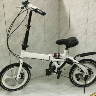 特売品♥未開封♥折りたたみ自転車