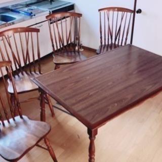 急いでます!ダイニングテーブルのみ 椅子は決まりました。