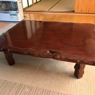 座卓テーブル 木目♪