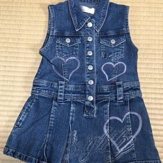 子ども用ジャンバースカート