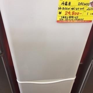 〔高く買取るゾウ八幡東店 直接取引〕DAEWOO 冷蔵庫 2ドア