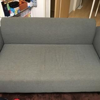 IKEA 二人がけソファ グレー