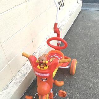 折りたたみ アンパンマン 三輪車
