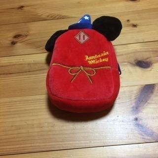 ミッキーマウスリュック型小物入れ