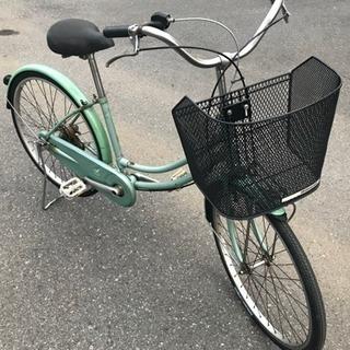 ブリジストン製自転車 新品パーツ交換済みで安心です 〜プレゼントあり〜