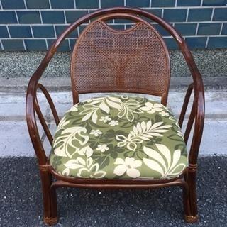 藤製 椅子