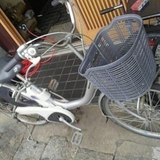 ナショナル 電動アシスト自転車 24インチ