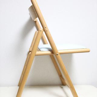 早い者勝ち 無印良品muji 折りたたみチェア 椅子 デスクチェア ブナ材無印 - 福岡市