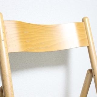 早い者勝ち 無印良品muji 折りたたみチェア 椅子 デスクチェア ブナ材無印 − 福岡県