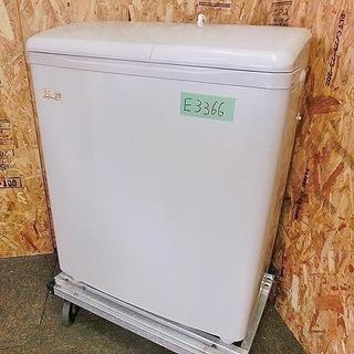 (E3366)【K1】☆ヒタチ☆【2槽式電気洗濯機】☆PS-H35...