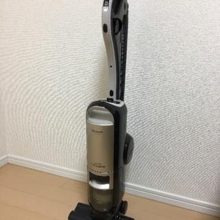 SHARP製 スティック型サイクロン掃除機