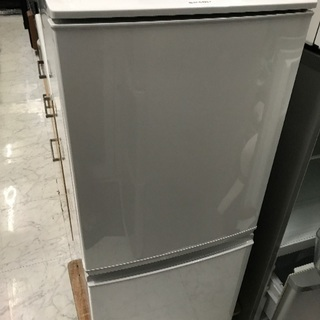 シャープ 2ドア冷蔵庫  SJ-D14B 2015年製