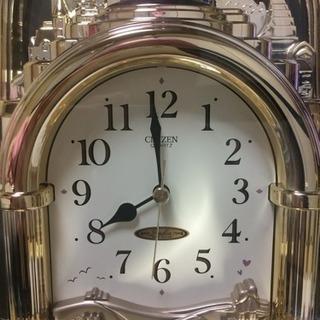 シチズンの置き時計