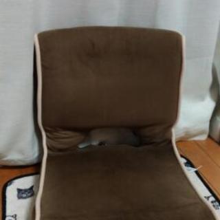 ブラウン 座椅子