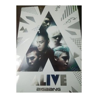 BIG BANG ALIVE・DVD箱と冊子のみ
