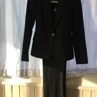 【美品】COMME CA レディース上下スーツ黒