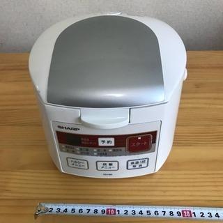 SHARP炊飯器3合