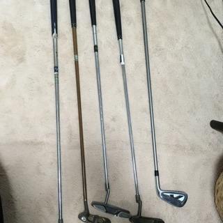 ゴルフクラブパター4本、7番