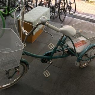 ツノダ自転車  三輪車 美品